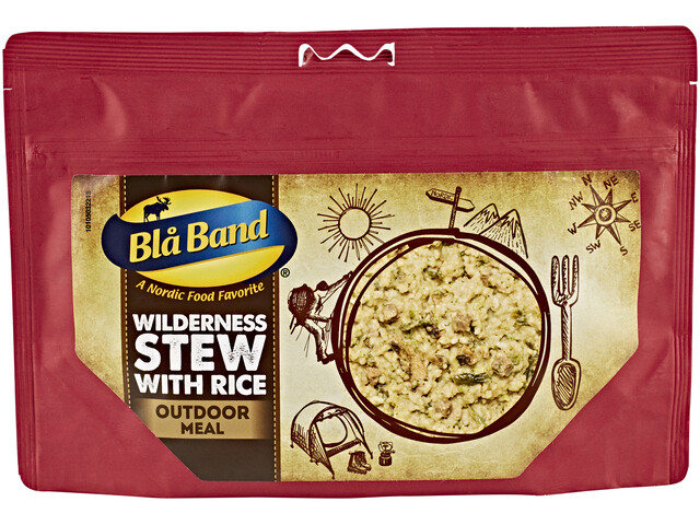 Bla Band Wilderness Stew with Rice Outdoor Nutrition